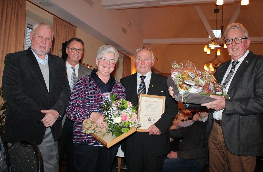 Ehrenmitglieder Hannelore und Hermann Schaten