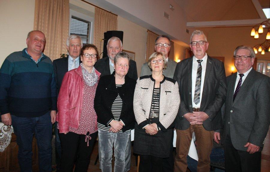 Vorstandsmitglieder im Jahr 2019