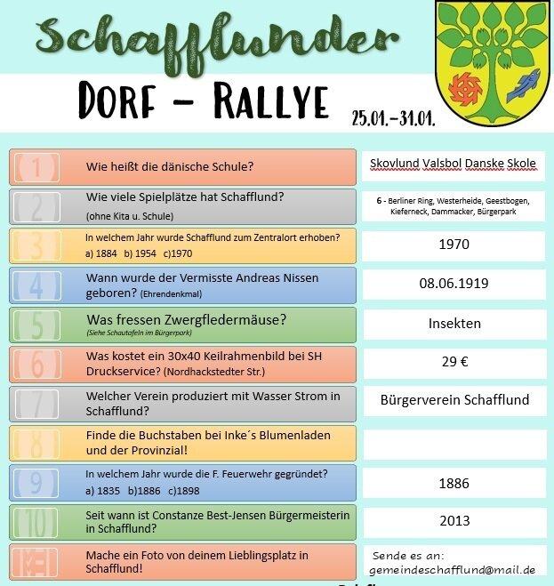 Dorf-Rallye 1