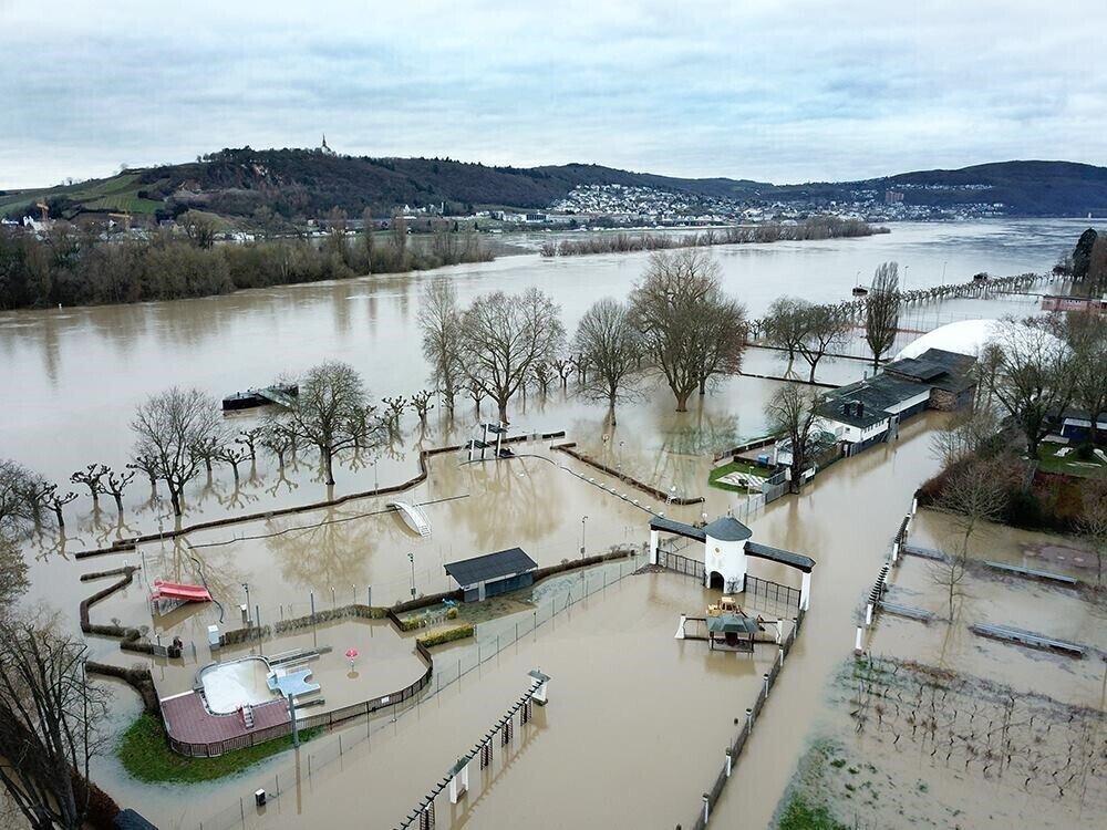 Asbach Bad Hochwasser