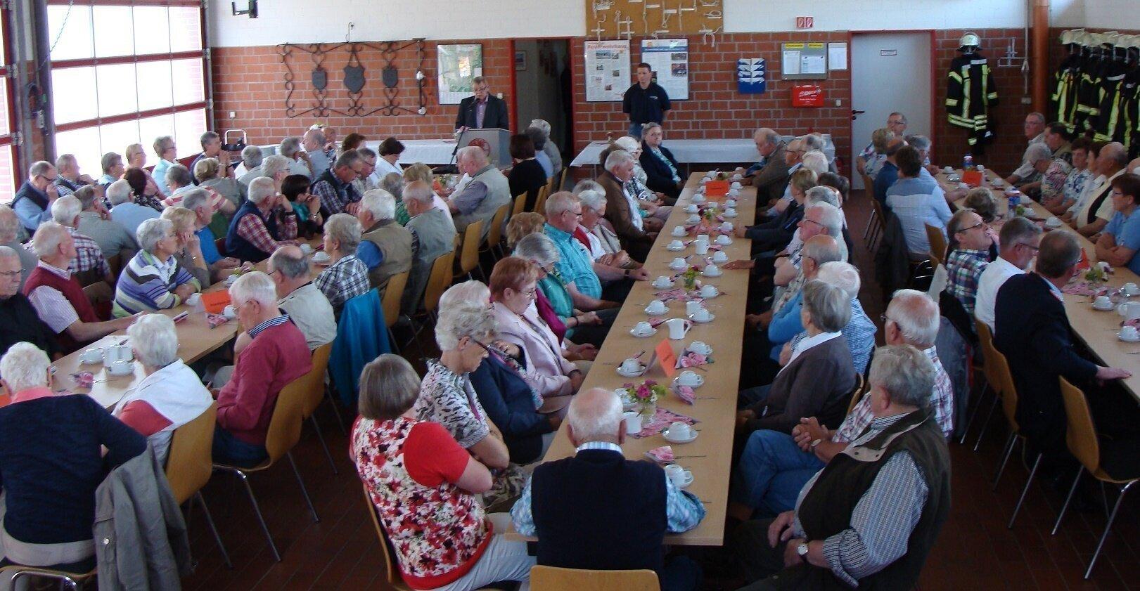 Treffen der Alters- und Ehrenabteilung