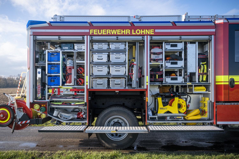 HLF 20 Geräteraum rechts