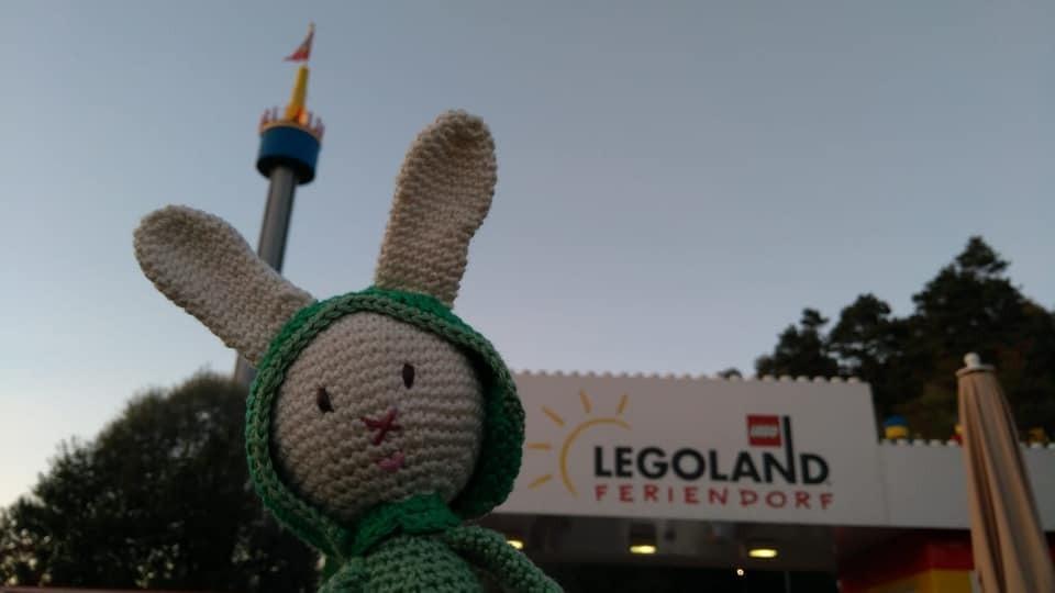Wunschhase im Legoland