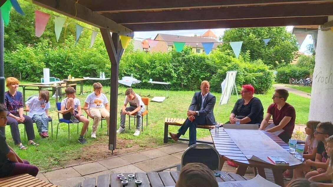 Raumpioniere Foto: Gemeinde Wusterhausen/Dosse