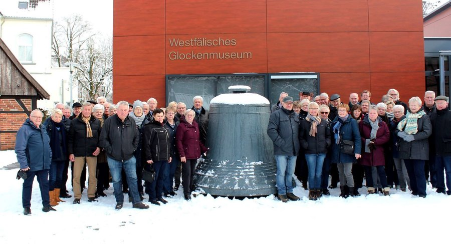 Pättkesfahrer im Glockenmuseum