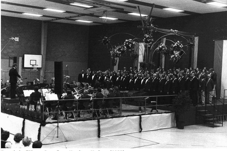 """Besuch der """"Blauen Jungs"""" aus Hamburg-Harburg (1982)"""