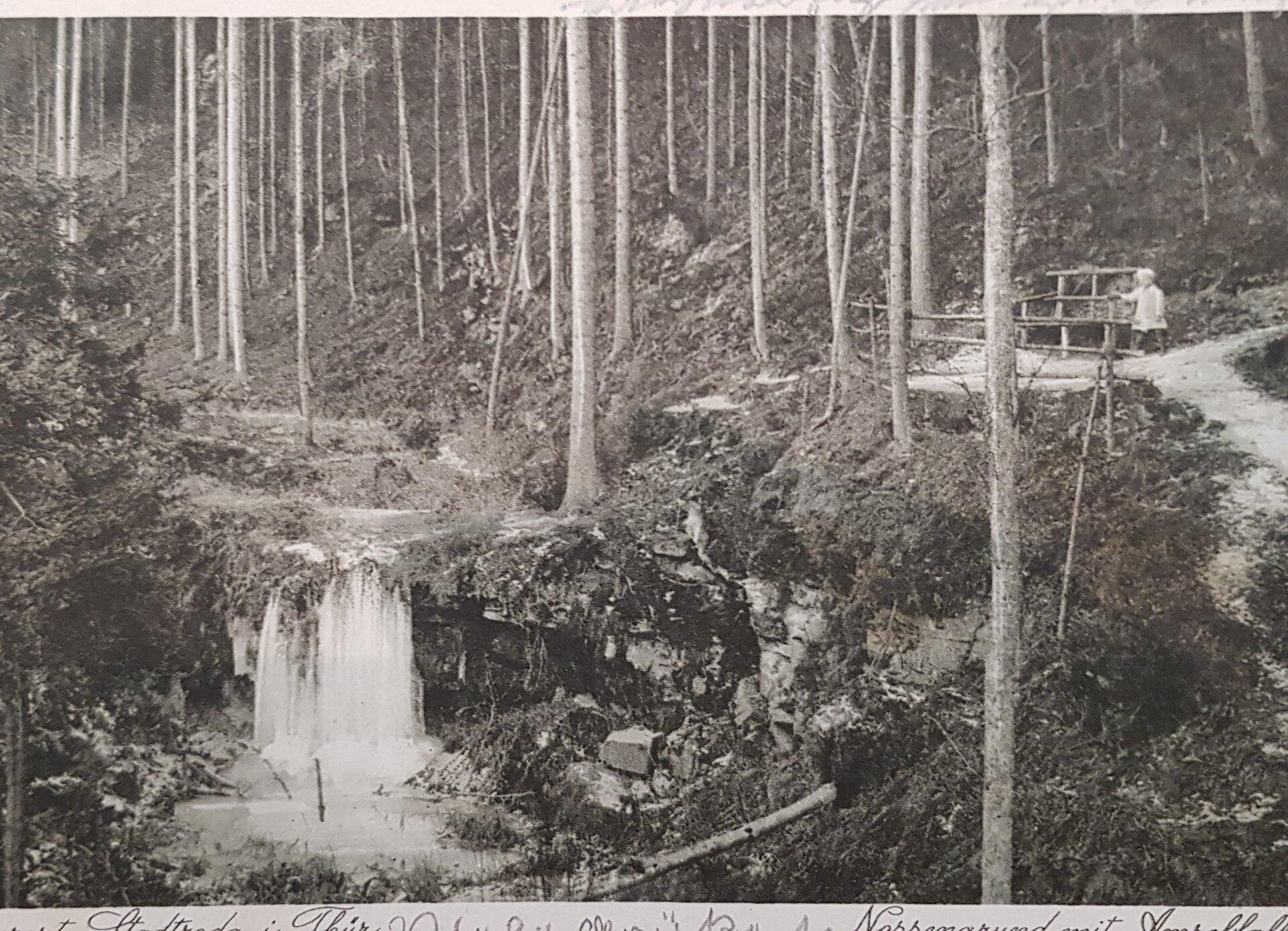 Amselfall um 1920