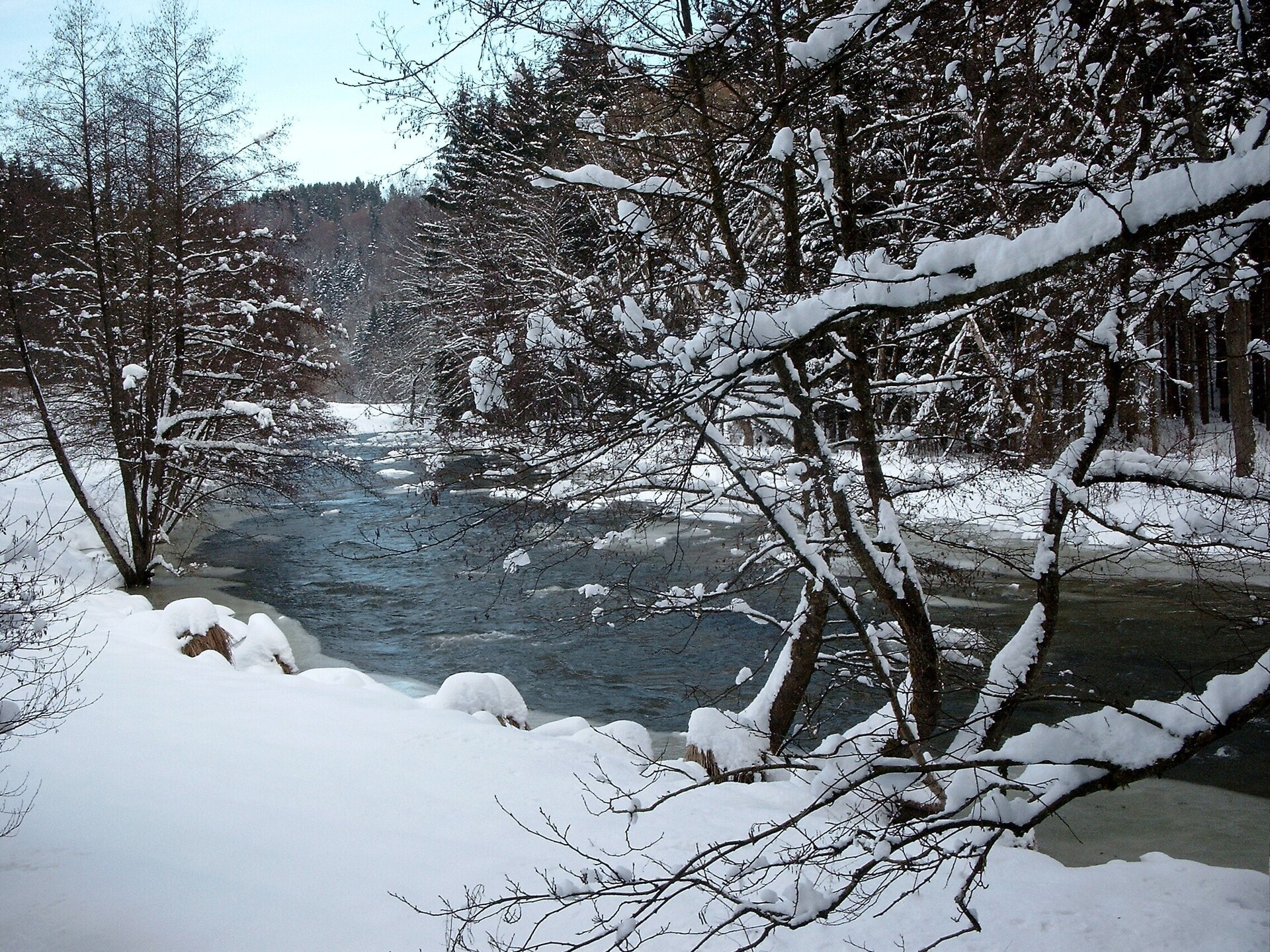 Winter im Ilztal