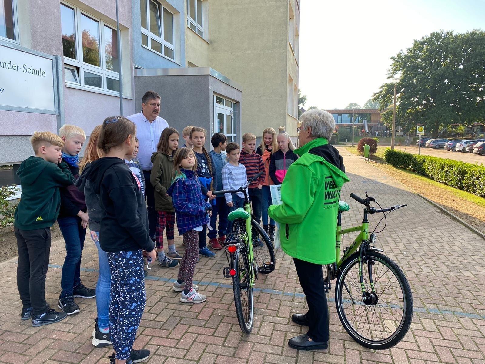 Räder für die Fahrradprüfung 1