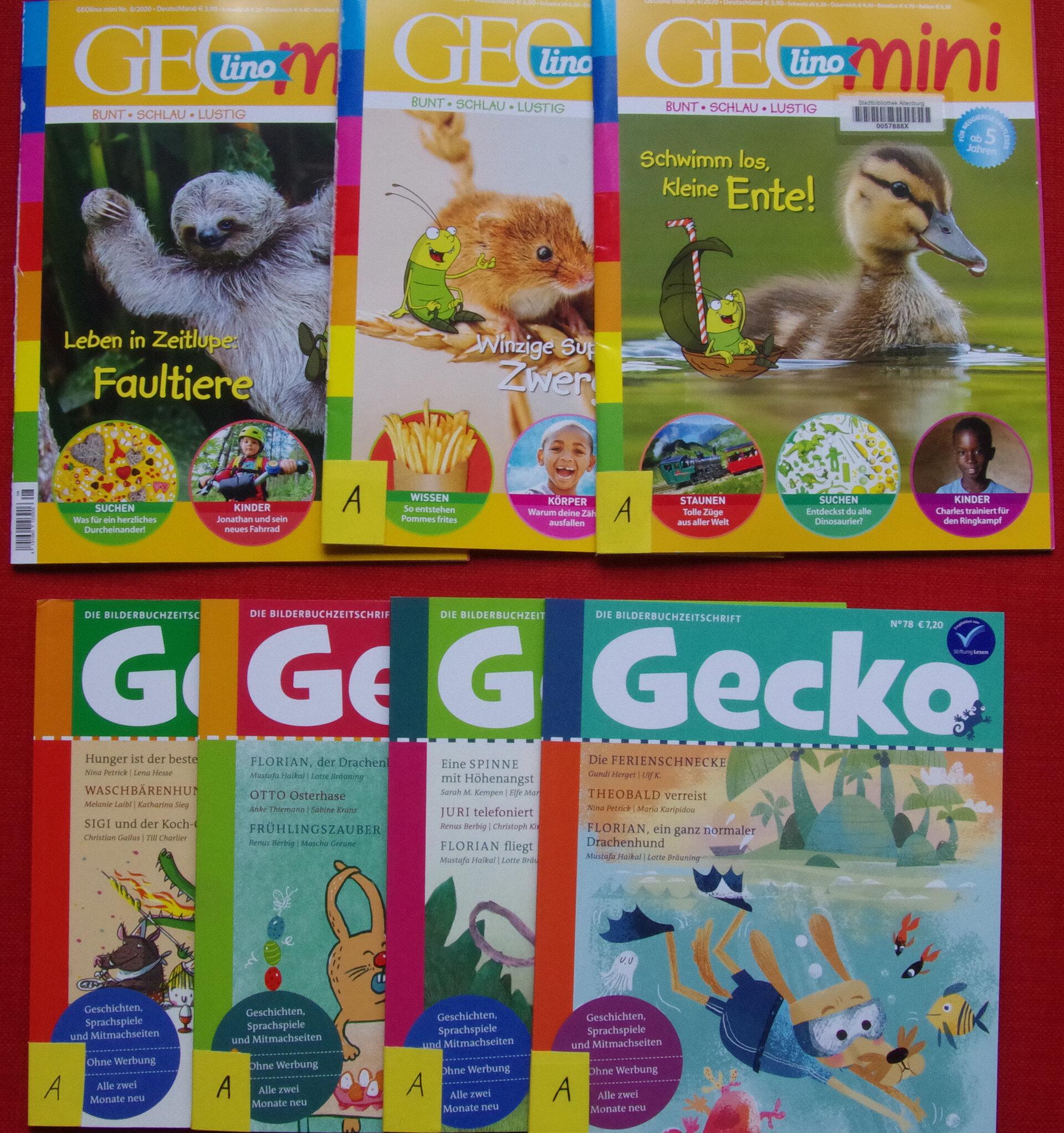 Kinderzeitschriften