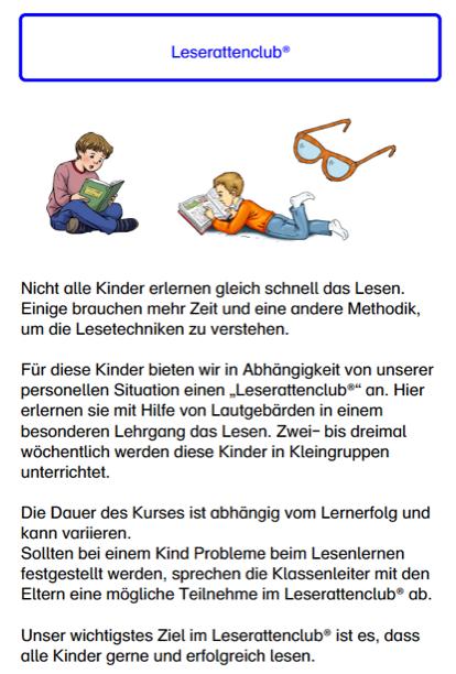 Lesen lernen macht Spaß