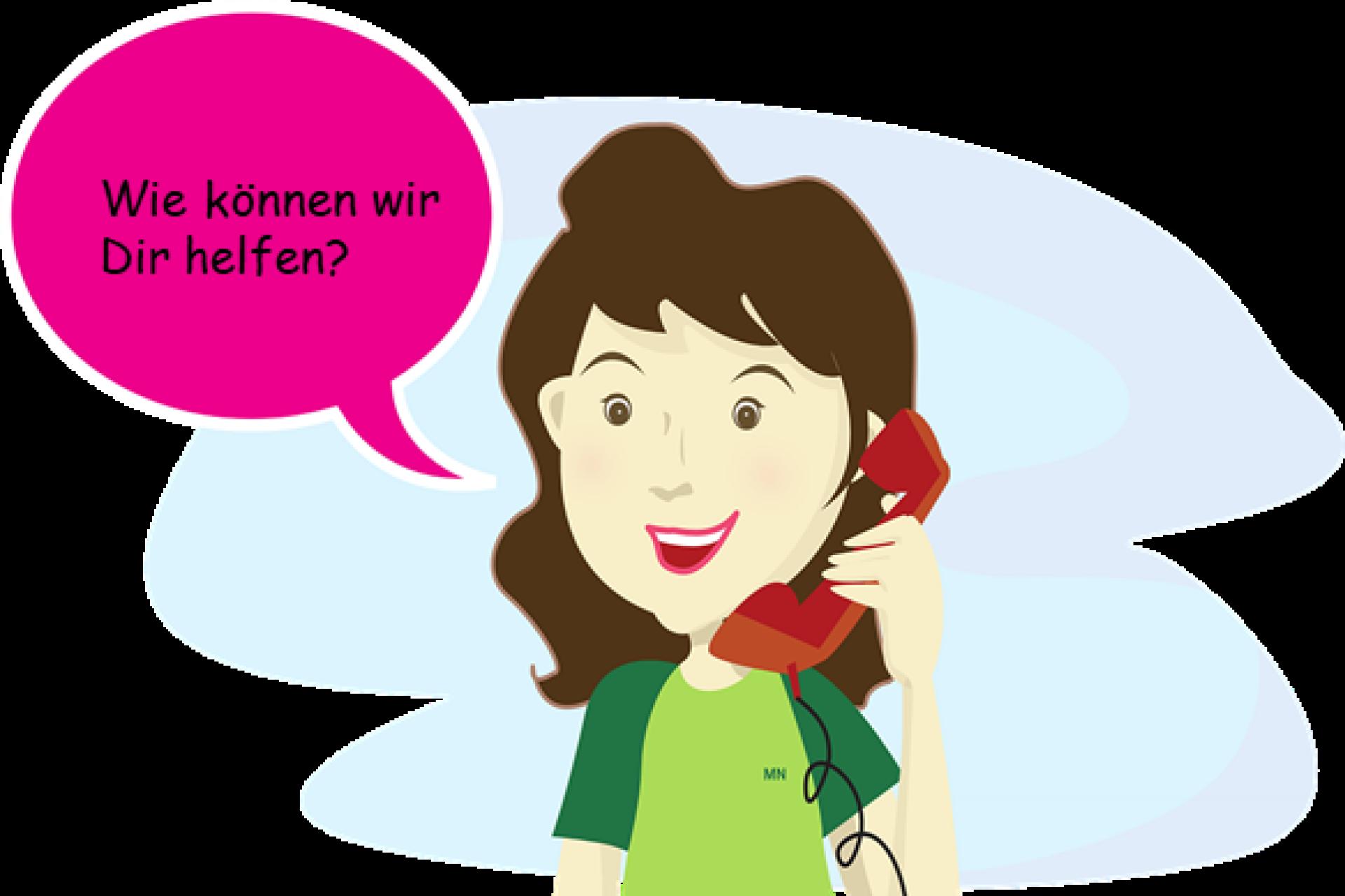 Anruf_Wir helfen gern weiter