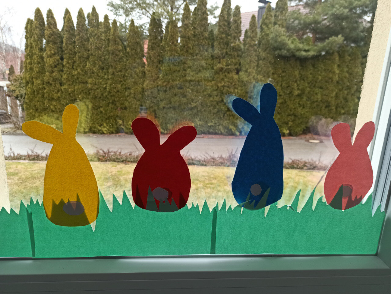 Hasen im Fenster
