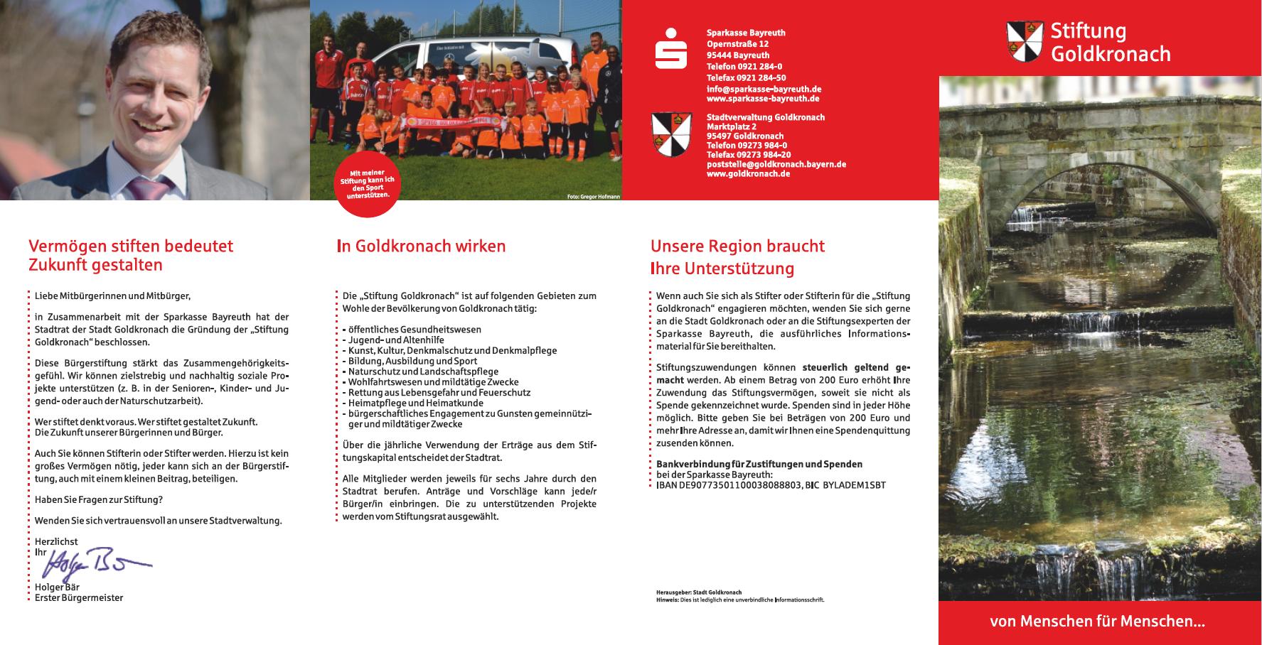 Flyer Stiftung Seite 1