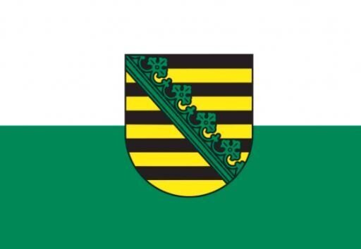 Flagge Freistaat Sachsen