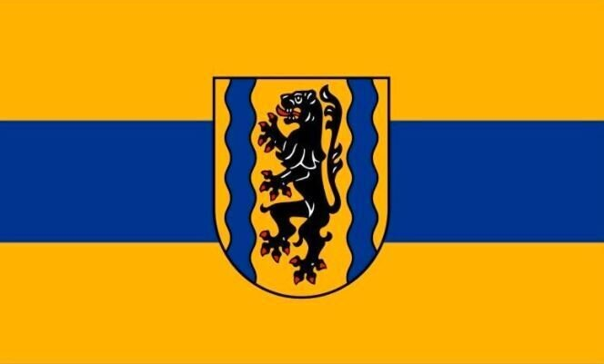 Flagge Landkreis Nordsachsen