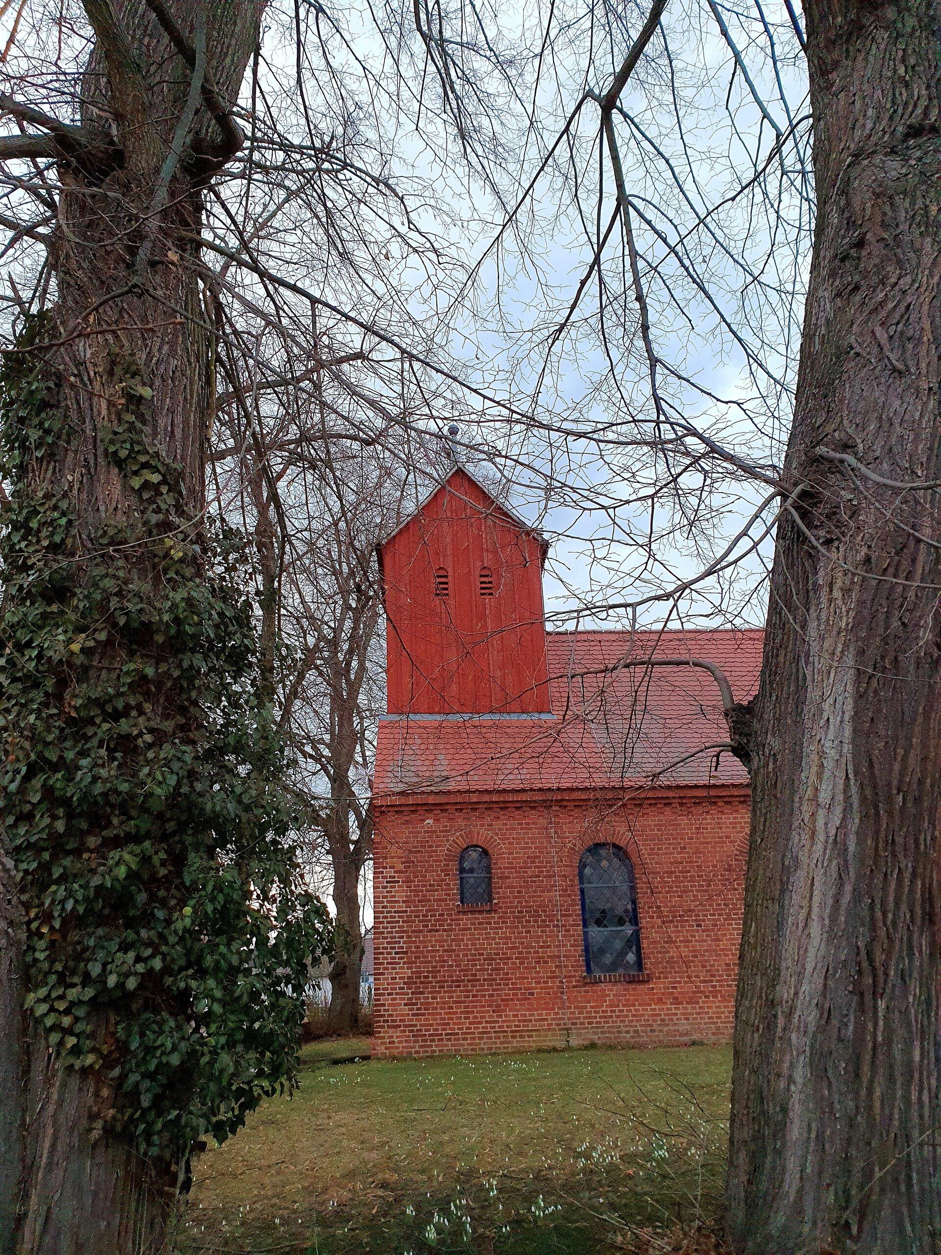Kirche Pernitz Foto Helena Basigkow