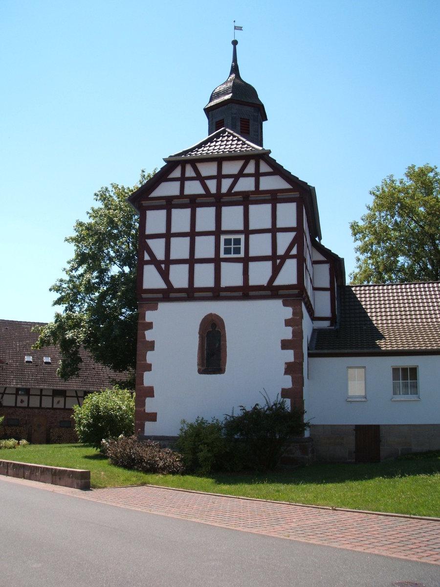 Kirche zu Oberhaun (Seitenansicht)