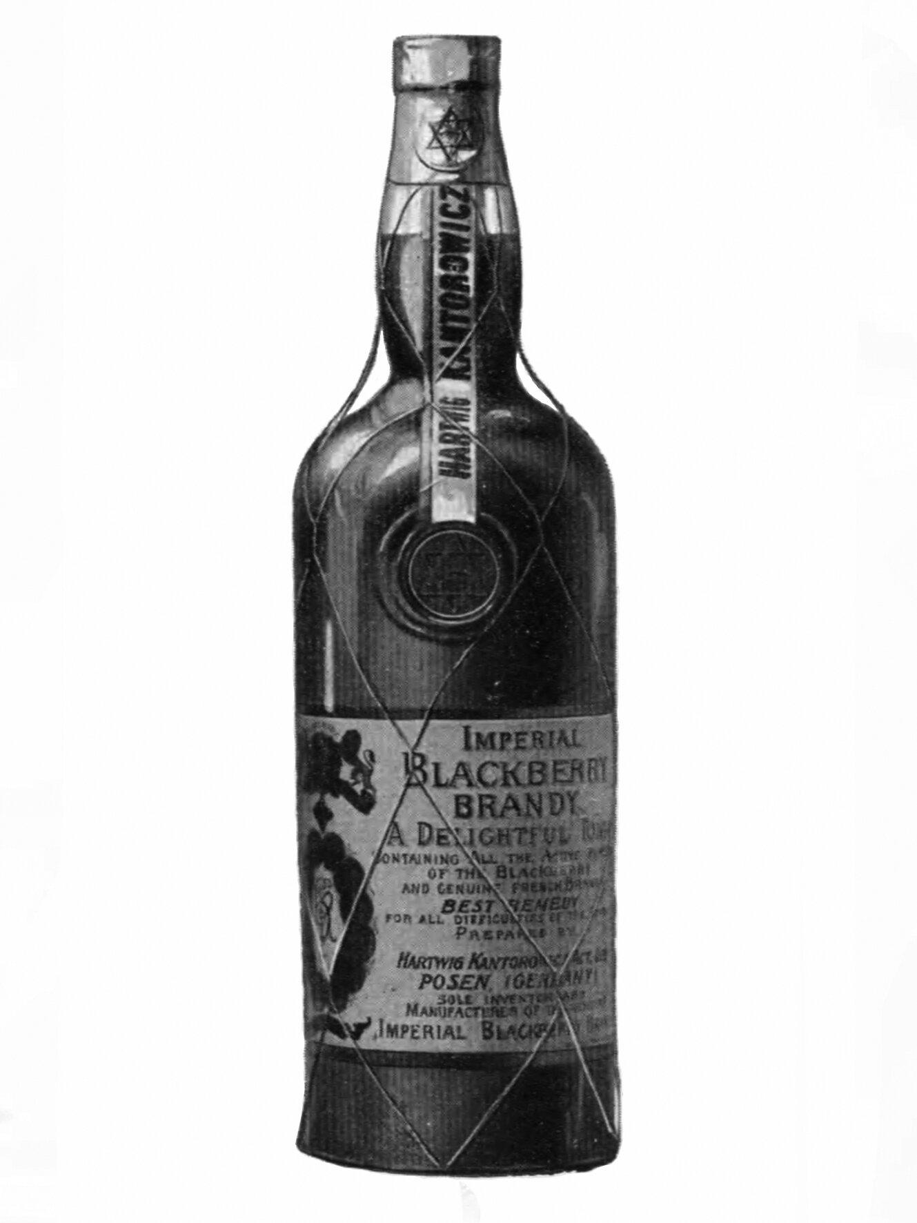 Kantorowicz Imperial Blackberry Brandy, © Gerhard Schneider, Leipzig