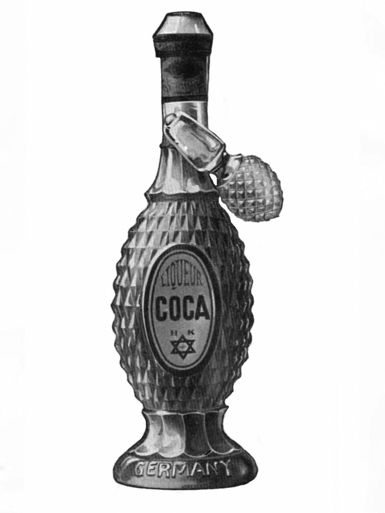 Kantorowicz Coca Likör, © Gerhard Schneider, Leipzig