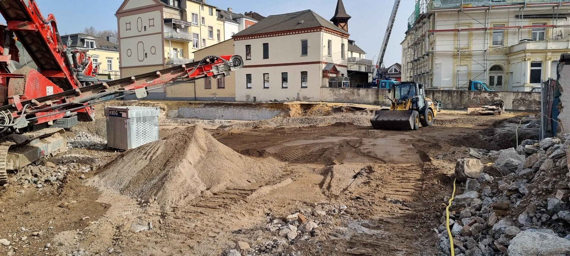 Baustelle Rheinhalle