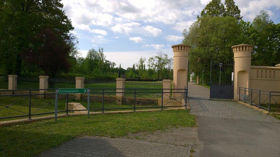 Heiraten im Schlosspark
