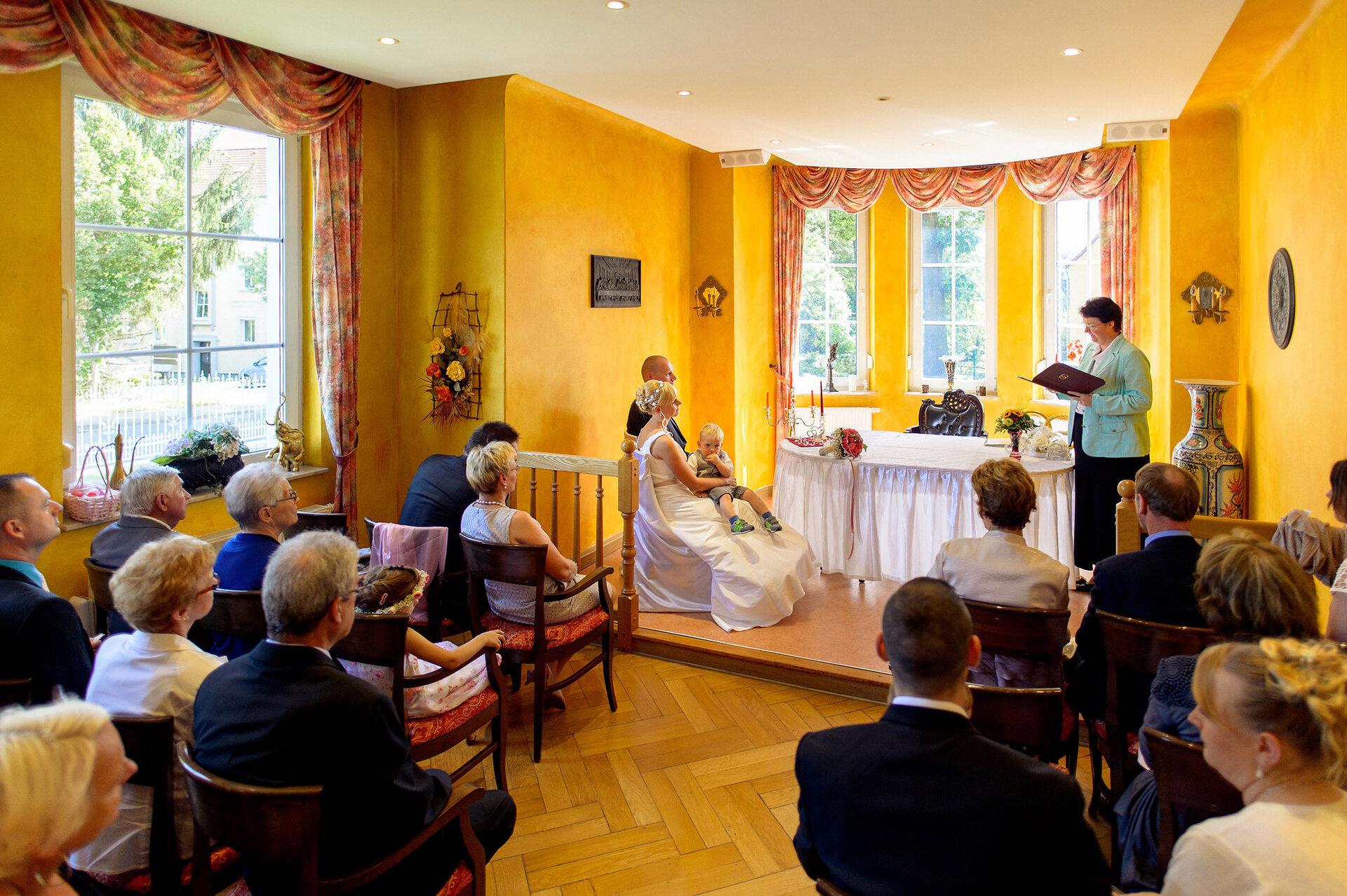Heiraten in der Villa K