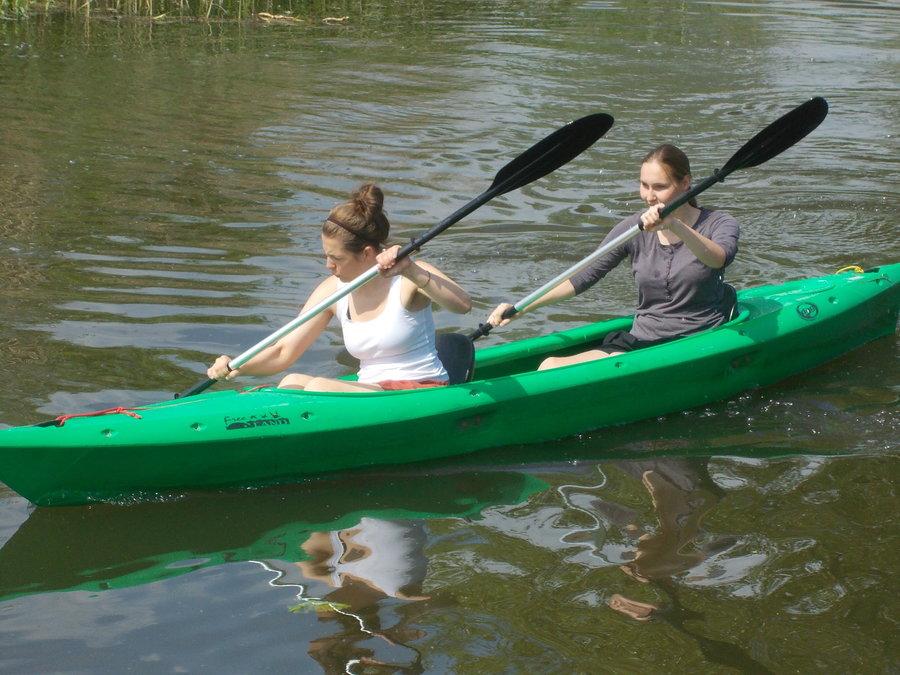 2er Kajak auf der Recknitz - Marlower Kanu-& Bootsverleih