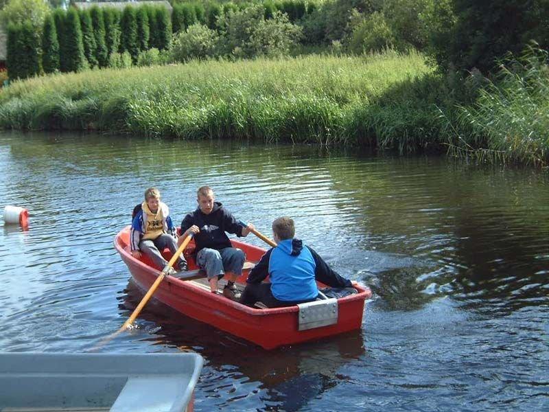 "Ruderboot ""anka"" auf er Recknitz - Marlower kanu-&Bootsverleih"