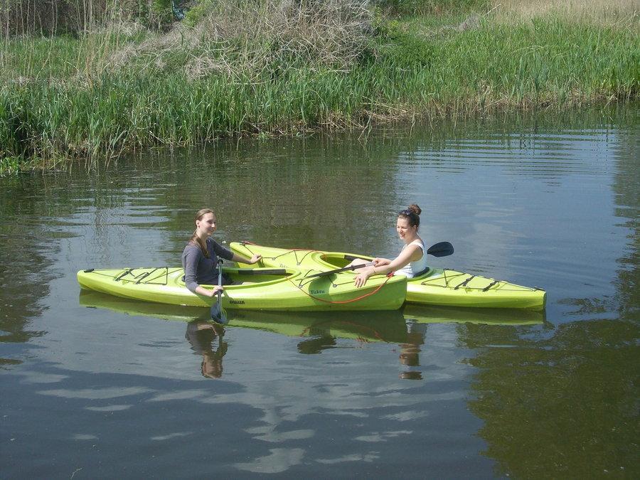 1er Kajaks auf der Recknitz - Marlower Kanu- & Bootsverleih