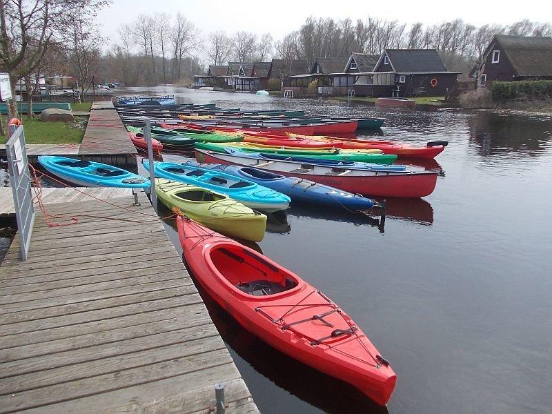1 er Kajak auf der Recknitz - Marlower Kanu- & Bootsverleih