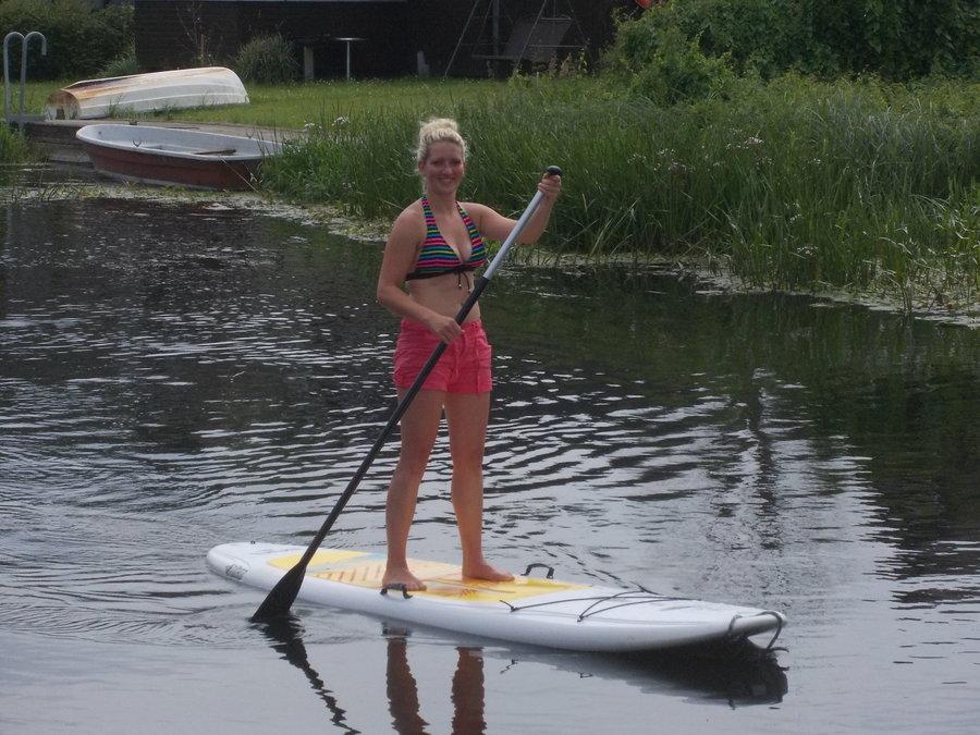 SUP Board auf der Recknitz - Marlower Kanu-& Bootsverleih