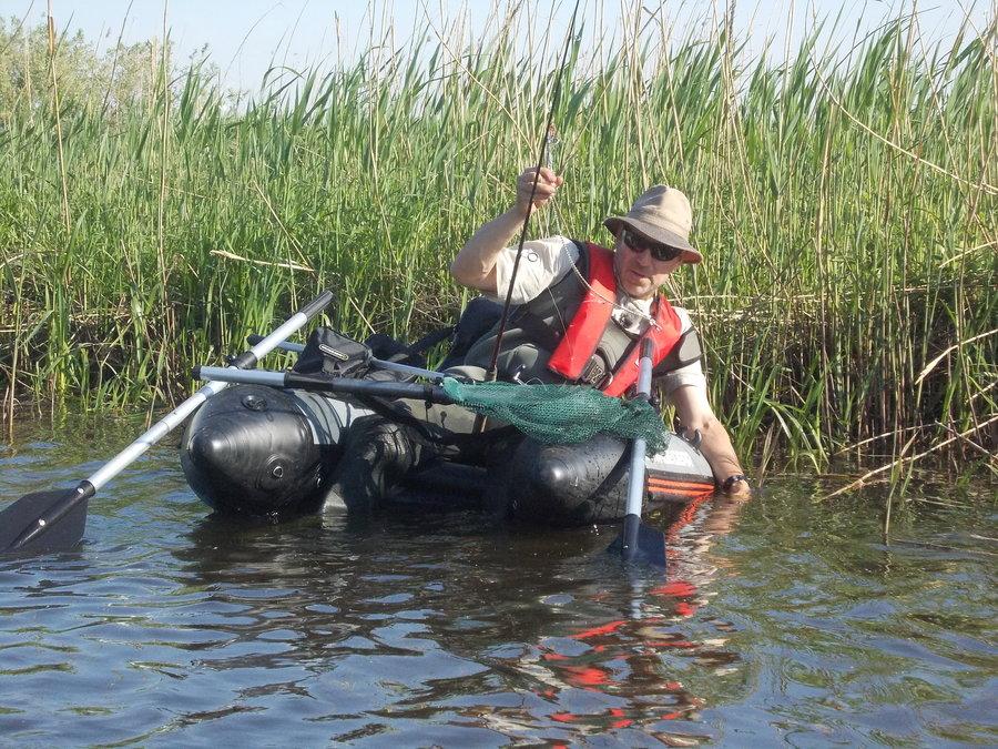 Mit dem Belly Boot auf der Recknitz - Marlower Kanu- & Botsverleih