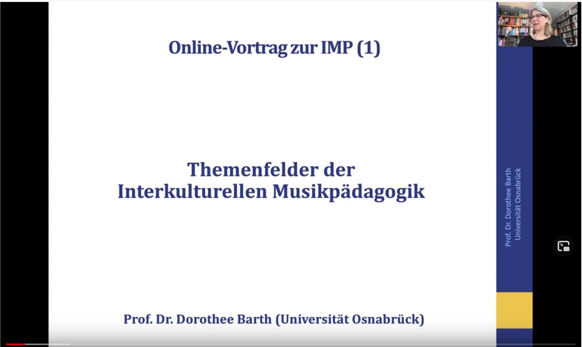 Video Dorothee Barth