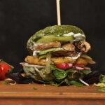 Spinat Burger