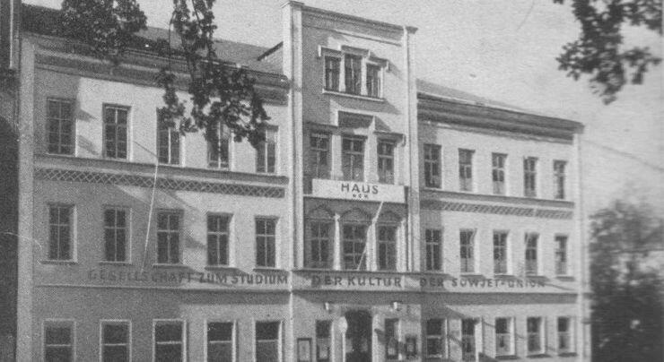 Das Haus des Handwerks in seiner ursprünglichen Gestalt.