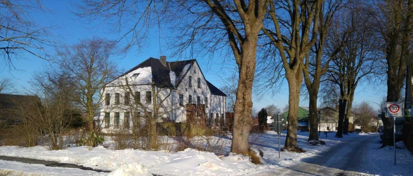 Die alte Schule in Süderschmedeby (Febr. 2021)