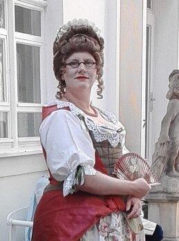 Maria Aurora Gräfin von Königsmarck / 1.Mätresse August des Starken (Silvia WEISE)