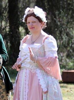 Anna Karolina Gräfin Orzelska /Illegitime Tochter August des Starken (Nadin SCHUBERT)