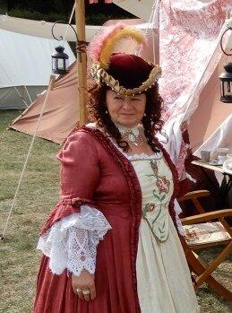 Henriette Baronin von Zetau (auch Zethau) / Hofdame und Gesellschafterin der Kurfürstin Eberhardine von Sachsen (Renate LIEBE)