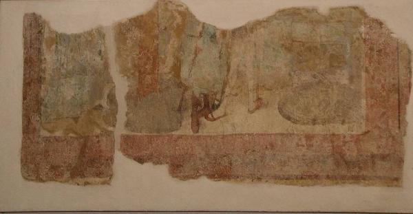 Auf Tafeln übertragene Fresken