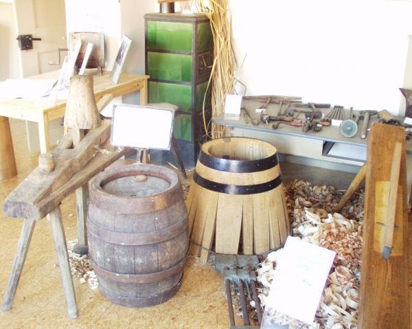 Blick ins Küfermuseum