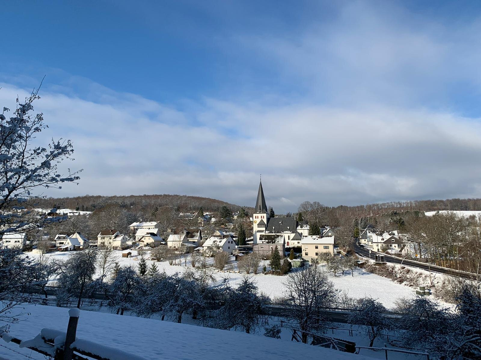 Winterliches Oberholzklau