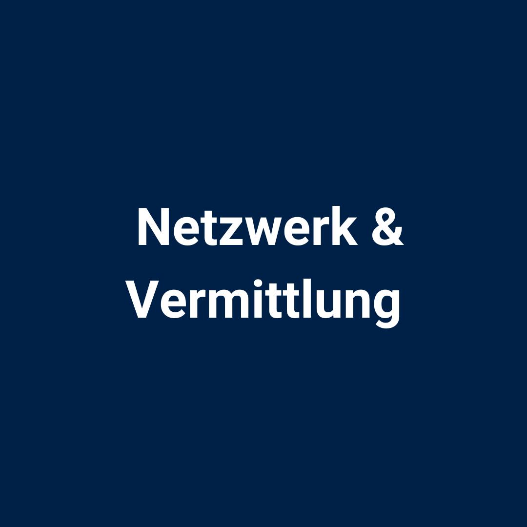 Netzwerk & Vermittlung