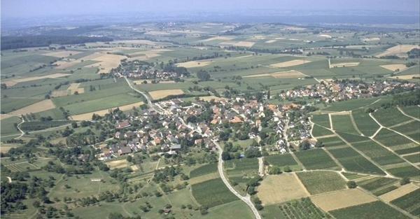 Luftaufnahme von Tannenkirch, Uttnach, Ettingen und Gupf