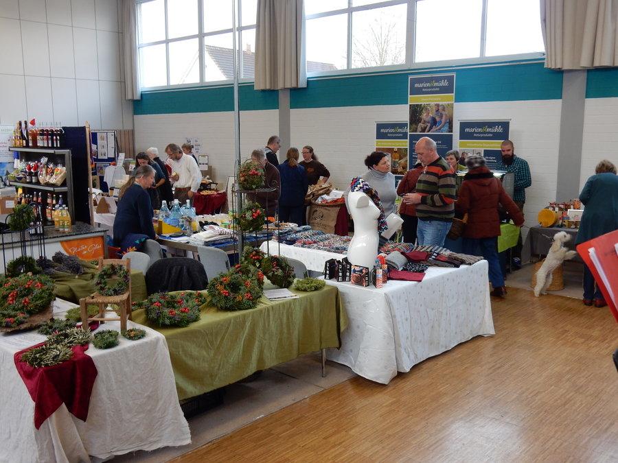 """Markt """"Regional und Fair"""" der Stadt Creußen 2017"""