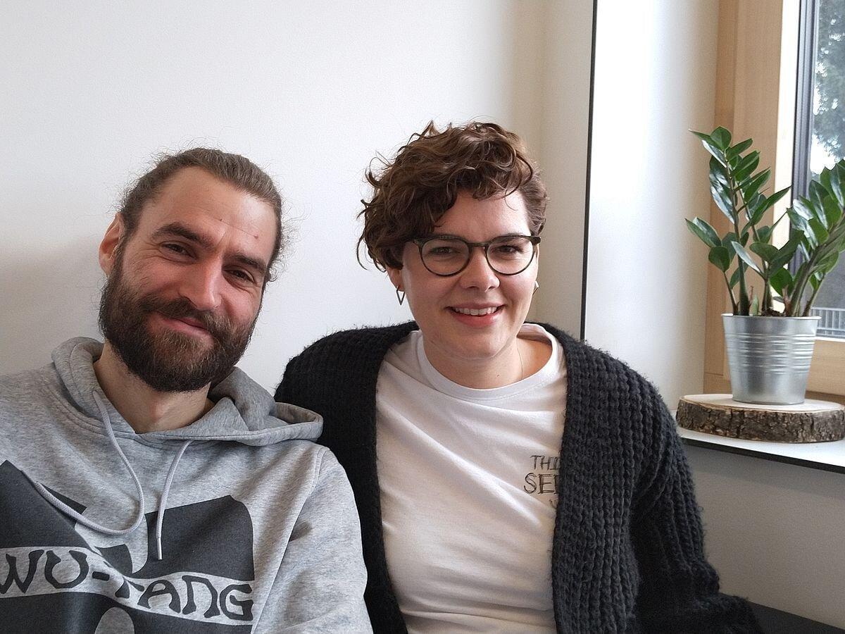 Vinzenz Hörl und Eva Blaha