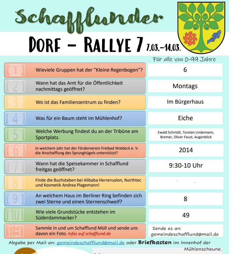 Dorf-Rallye 7