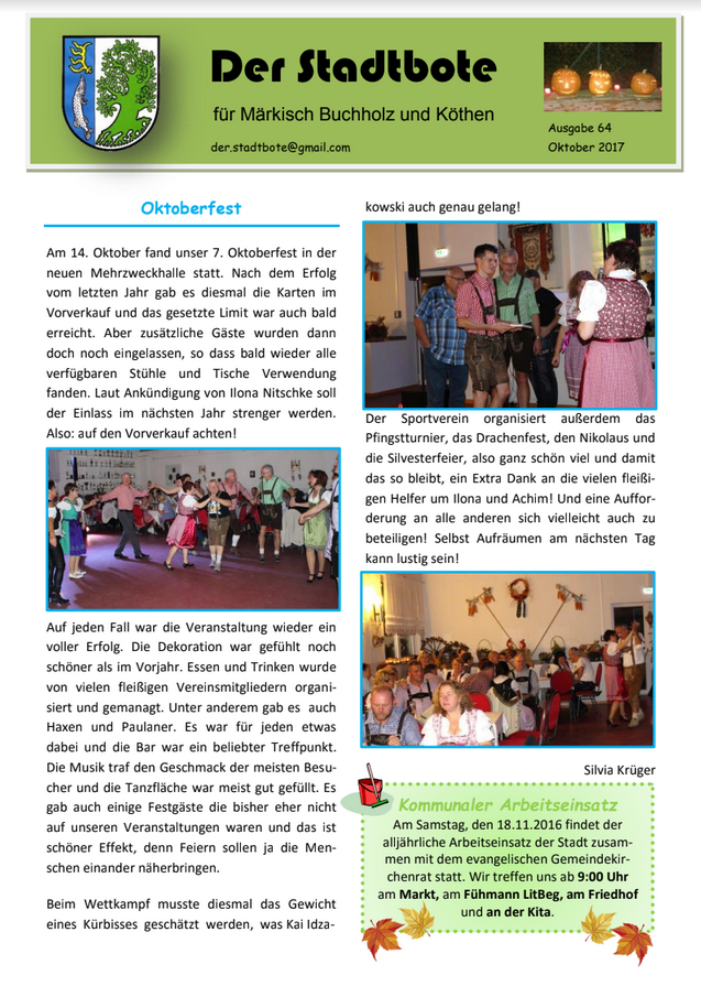 Ausgabe 64 - Oktober 2017