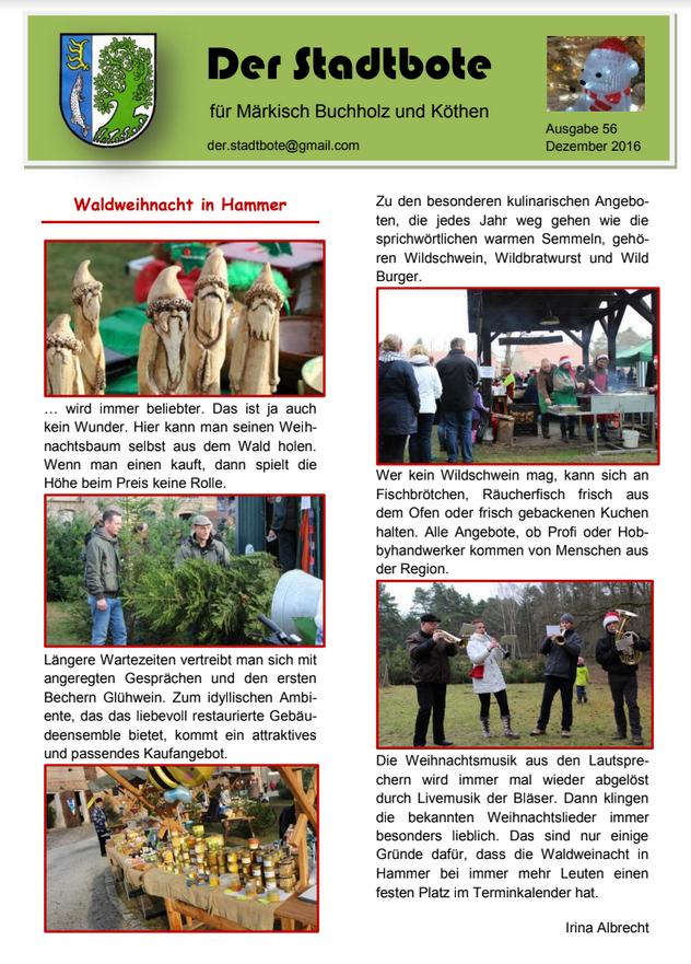Ausgabe 56 - Dezember 2016